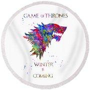 Game Of Thrones Round Beach Towel