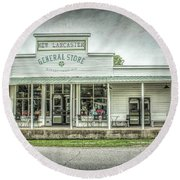 General Store Round Beach Towel