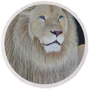 Gentle Paws Round Beach Towel by Tracey Goodwin