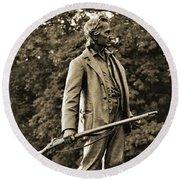 Gettysburg Battlefield - John Burns Round Beach Towel