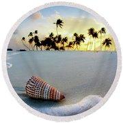 Gili Shell Round Beach Towel