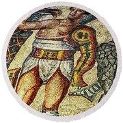 Gladiator Round Beach Towel