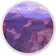 Grand Canyon, Arizona, Usa Round Beach Towel