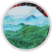 Great Wall V 201848 Round Beach Towel