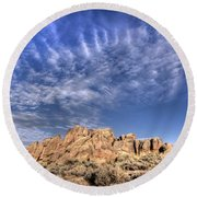 Hartman Rocks Round Beach Towel