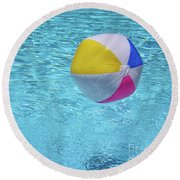 Have A Ball Round Beach Towel