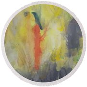 Hint And Whisper Of Degas In My Melbourne Round Beach Towel