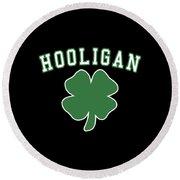 Hooligan Round Beach Towel