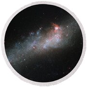 Hubbles Hockey Stick Galaxy Round Beach Towel