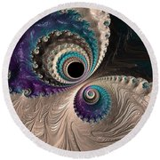 I Have My Eye On You. Round Beach Towel