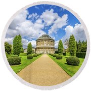 Ickworth House, Image 18 Round Beach Towel