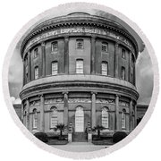 Ickworth House, Image 26 Round Beach Towel