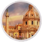It Ain't Half Hot Mum, Rome Round Beach Towel