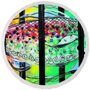 Jail Fish 135826 Round Beach Towel