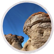 Jerusalem Geology Round Beach Towel