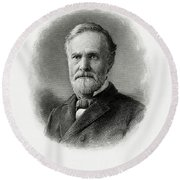 John Sherman Round Beach Towel