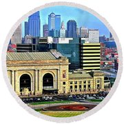 Kansas City 2019 Round Beach Towel