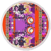 Kelly Round Beach Towel
