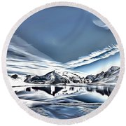 Landscapes 40 Round Beach Towel