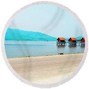 Lang Co View - Hue, Vietnam Round Beach Towel