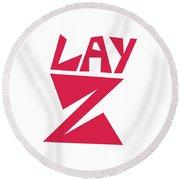 Lay Z Round Beach Towel
