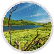 Loch Eynort, Isle Of Skye Round Beach Towel