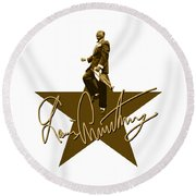 Louis Armstrong - Signature Round Beach Towel