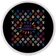 Louis Vuitton Monogram-11 Round Beach Towel