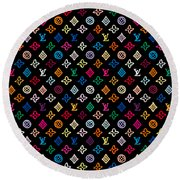 Louis Vuitton Monogram-2 Round Beach Towel
