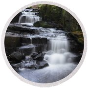 Lumsdale Falls 11.0 Round Beach Towel