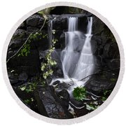 Lumsdale Falls 12.0 Round Beach Towel