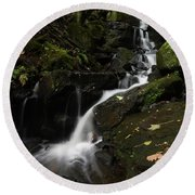 Lumsdale Falls 9.0 Round Beach Towel