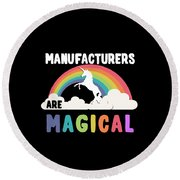 Manufacturers Are Magical Round Beach Towel