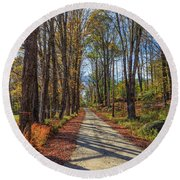 Maple Lane Old Fairgrounds Road Nh Round Beach Towel