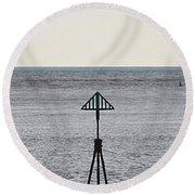Marker Round Beach Towel