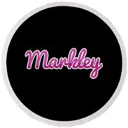 Markley #markley Round Beach Towel