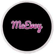 Mcevoy #mcevoy Round Beach Towel