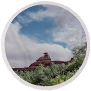Mexican Hat From San Juan Round Beach Towel