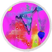 Mirage 2a Round Beach Towel