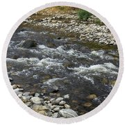 mission Creek Greenway, Round Beach Towel