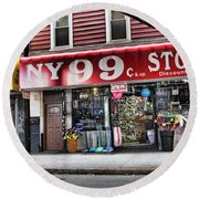 Ny 99 Cent Store Brooklyn  Round Beach Towel