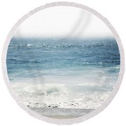 Ocean Dreams- Art By Linda Woods Round Beach Towel