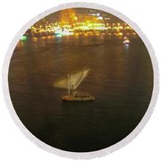 Old Town Cairo, Egypt F1 Round Beach Towel