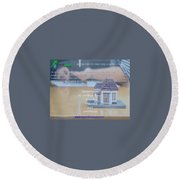 Online Payday Loans Round Beach Towel