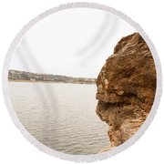 Pace Bend Round Beach Towel