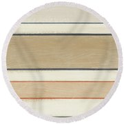 Pages 2- Art By Linda Woods Round Beach Towel