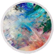 Palette 2 Round Beach Towel