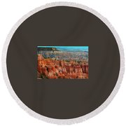 Panorama Bryce Canyon  Round Beach Towel