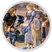 Perseus And The Sea Nymphs 1877 Round Beach Towel