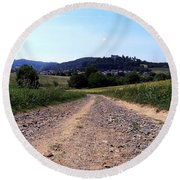 Photography Landscape Shot Of A Path Round Beach Towel